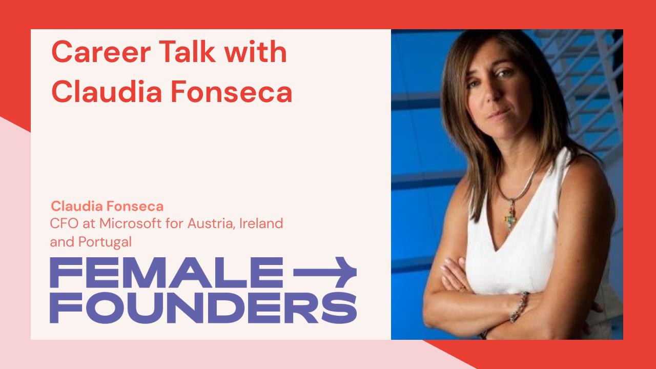 Career Talk with Claudia Fonseca