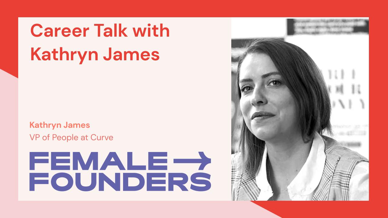 Career Talk with Kathryn James