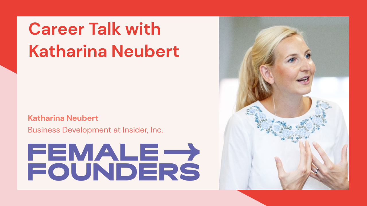 Career Talk with Katharina Neubert
