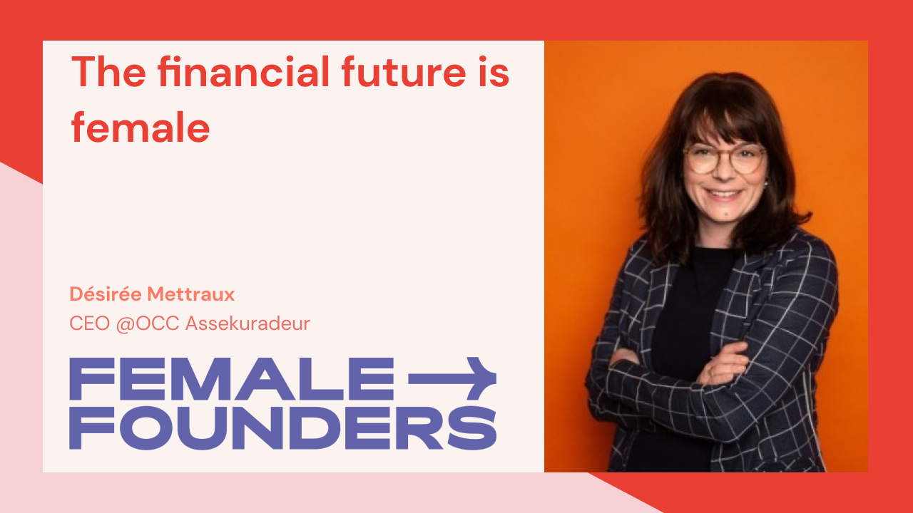 The financial future is female