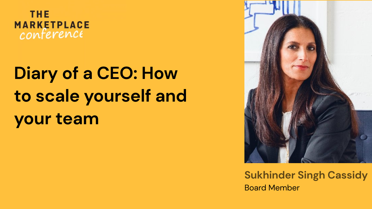 Diary of a CEO: How to scale yourself and your team