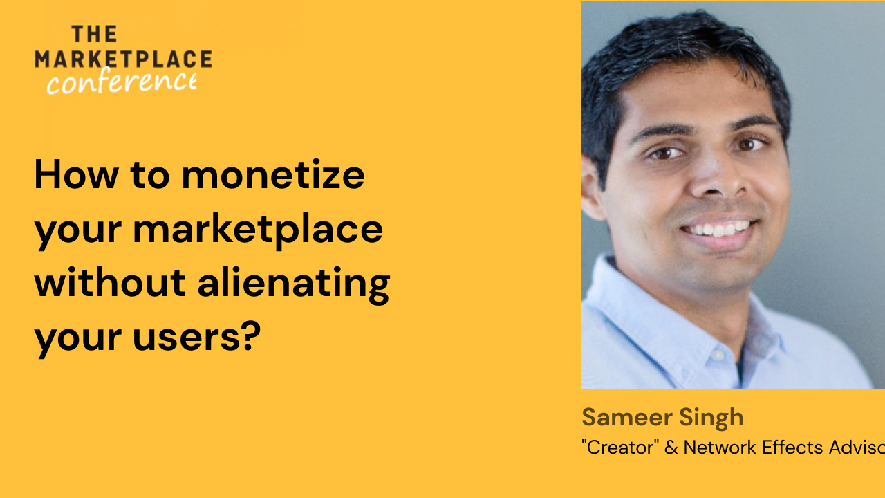 How to monetize your marketplace without alienating your users?