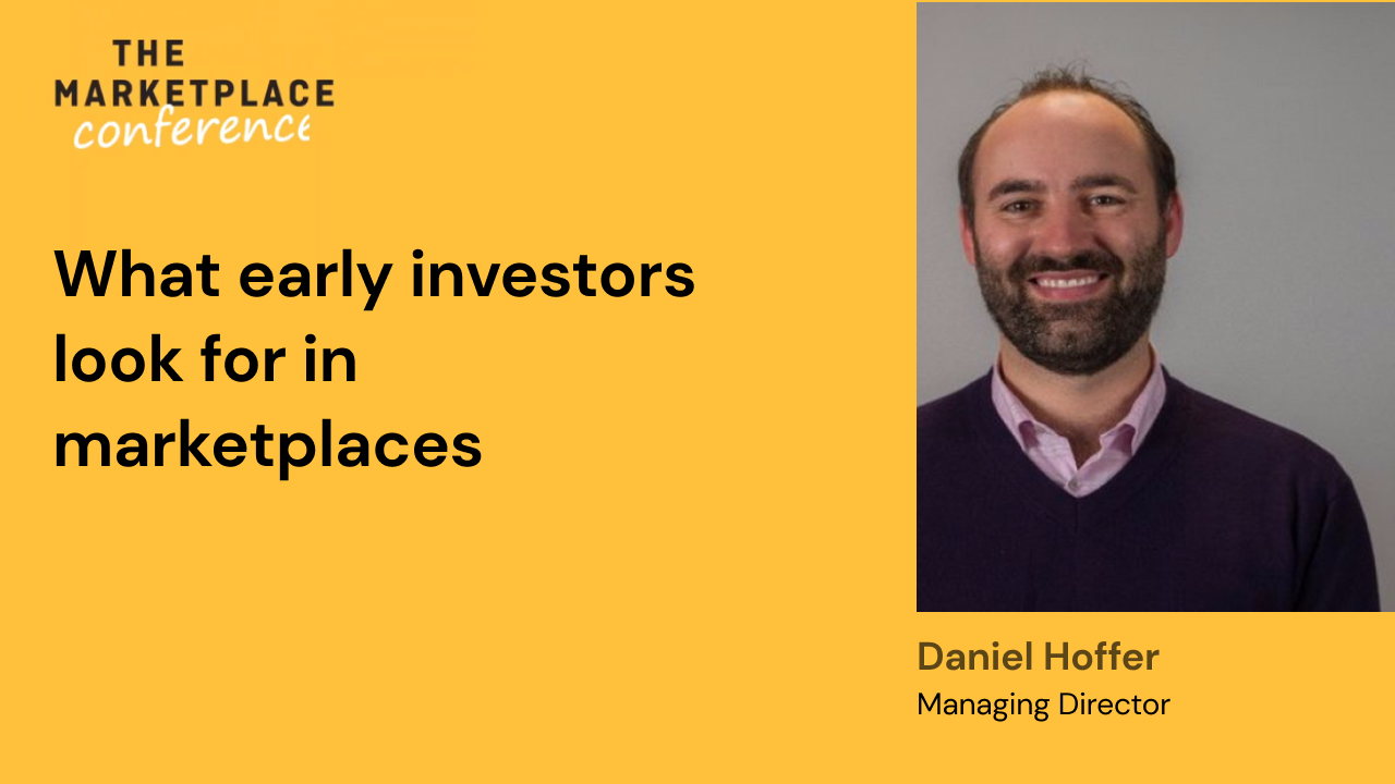 What early investors look for in marketplaces