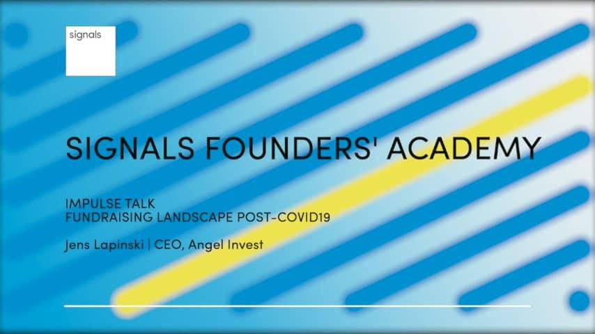 Fundraising landscape post Covid19