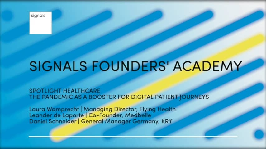 The pandemic as a booster for digital patient journeys
