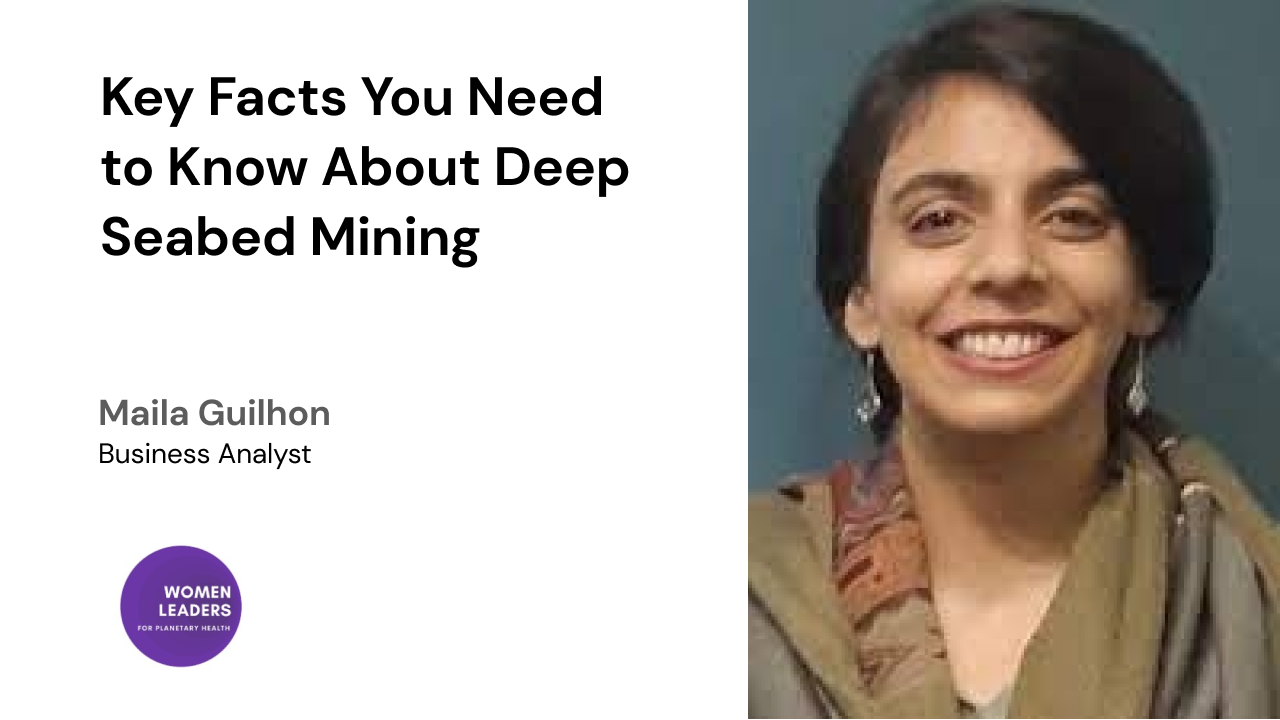 Key Facts You Need to Know About Deep Seabed Mining