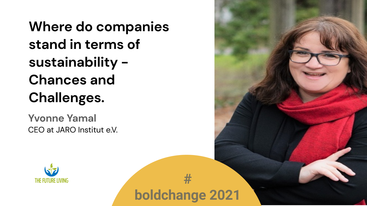Where do companies stand in terms of sustainability - Chances and Challenges.