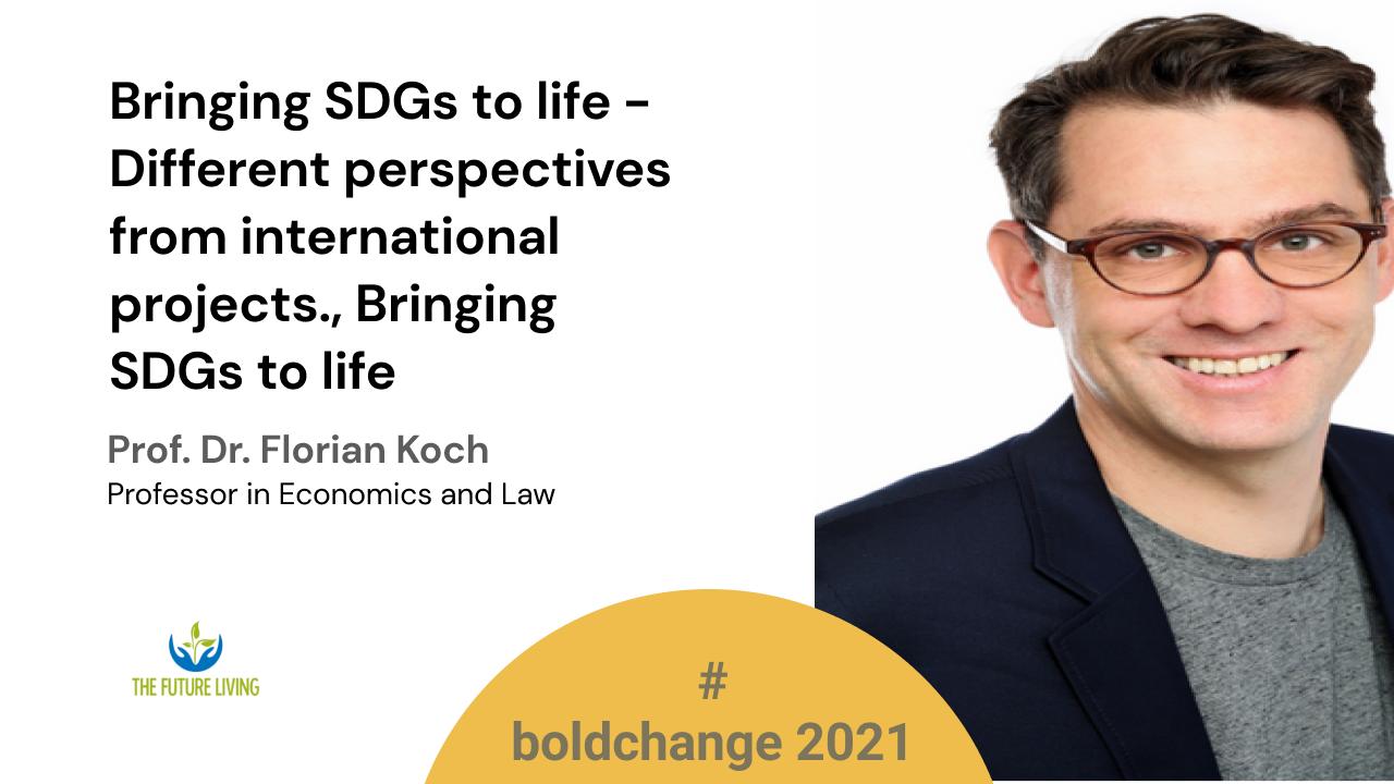 Bringing SDGs to life