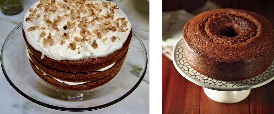 Bill's Big Carrot Cake and Honey Cake for a Sweet New Year images