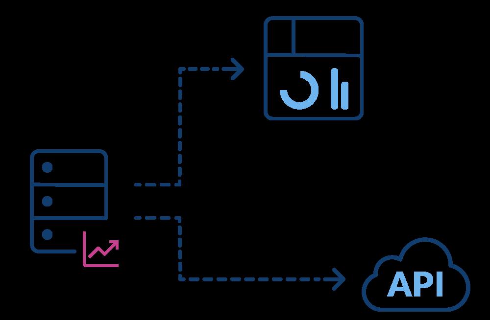 Serverstruktur | Delicious Data