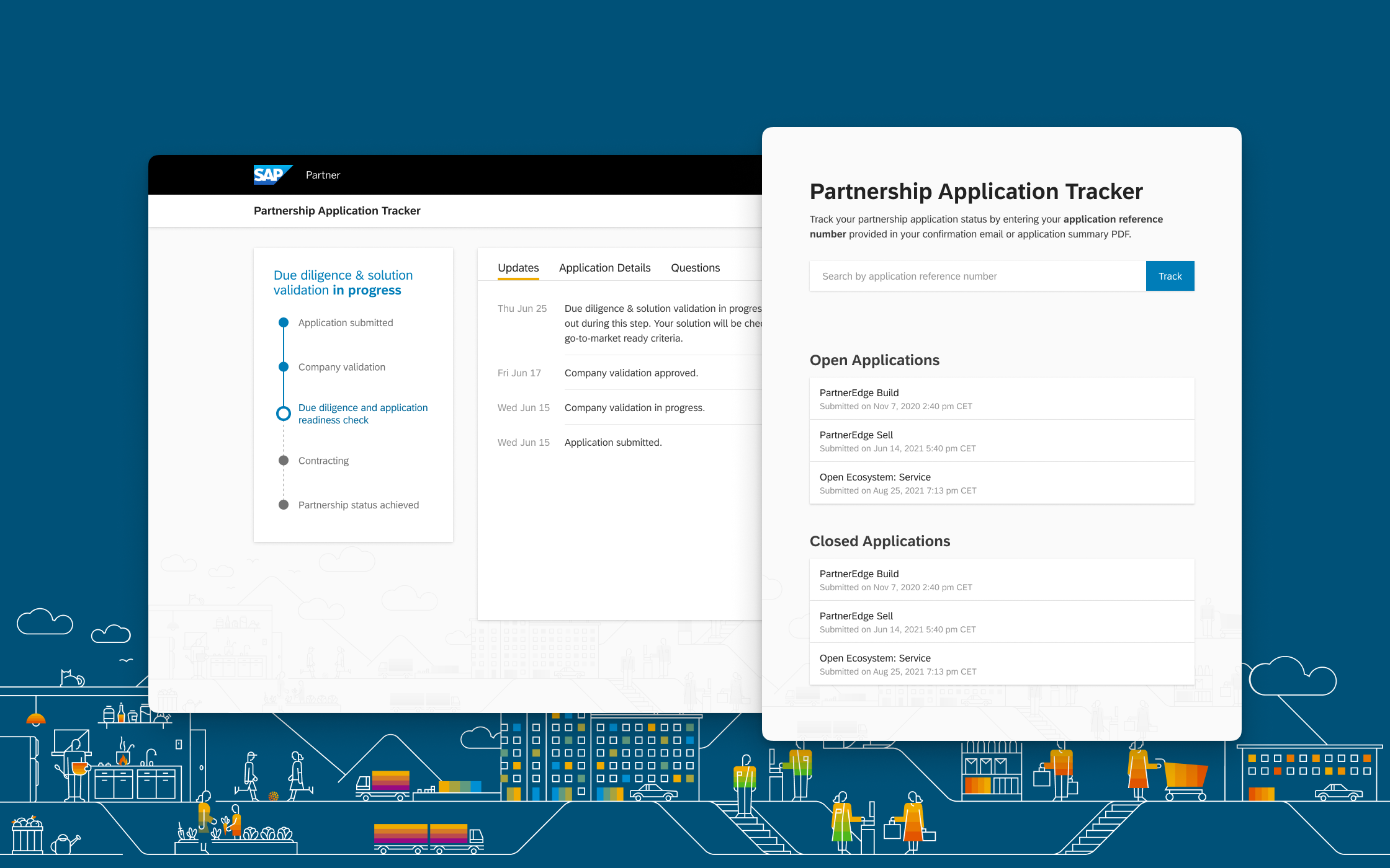 Application tracker project cover image