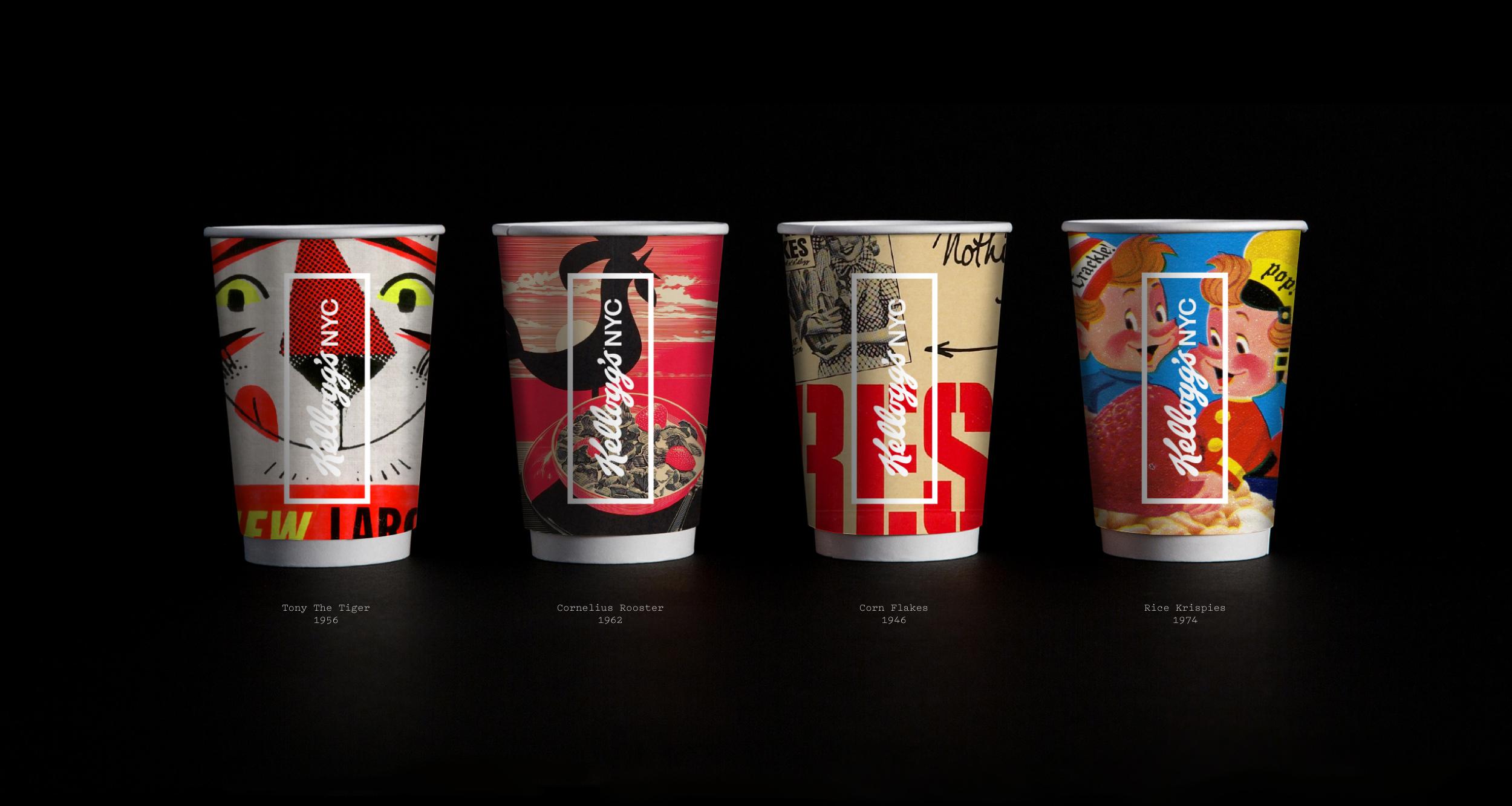 Kelloggs NYC Cup Designs Dave C Frankel