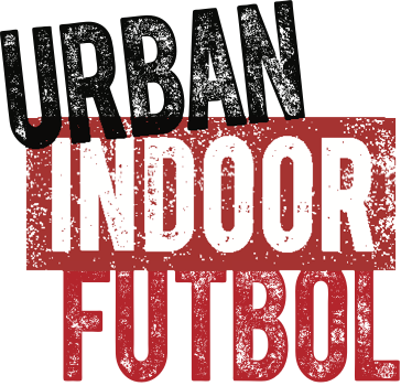 Urban Indoor Futbol Logo. Previously Urban Soccer Five