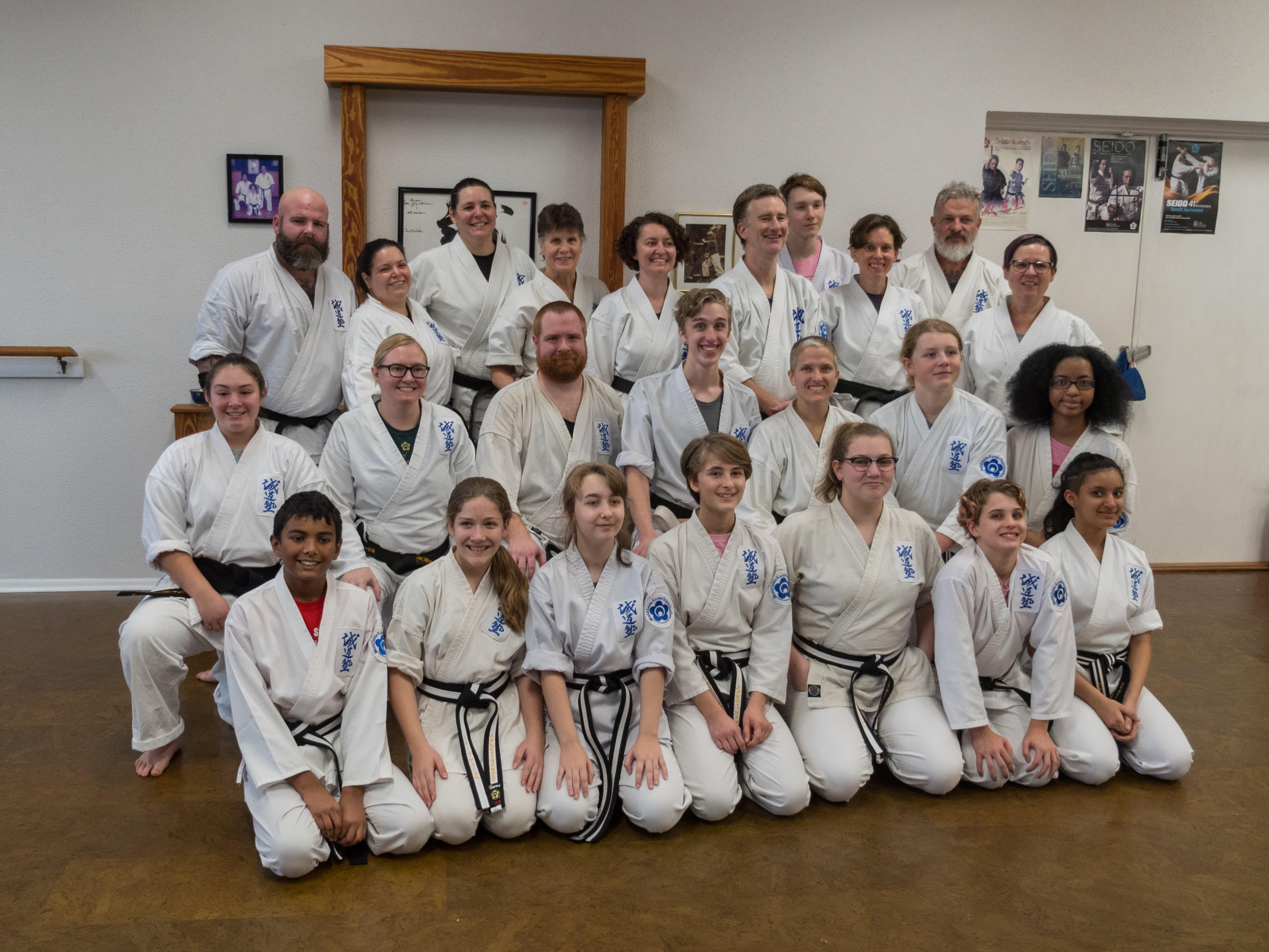 Youth and adult blackbelts
