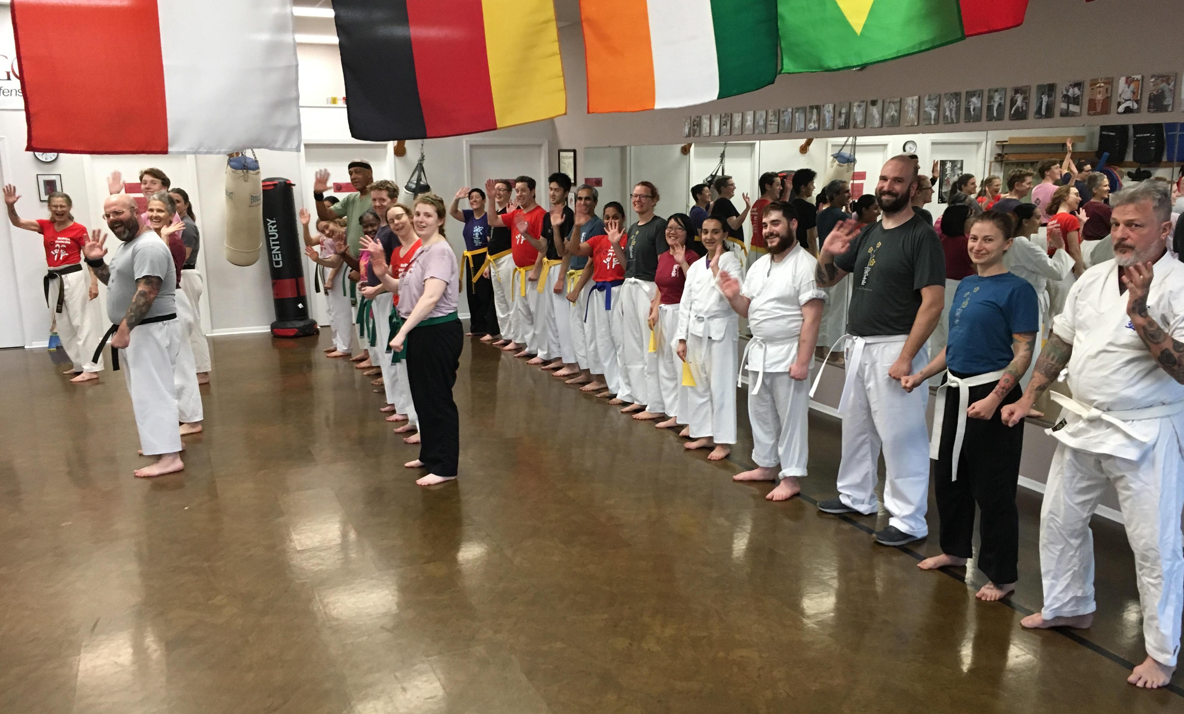 Karateka pre-class