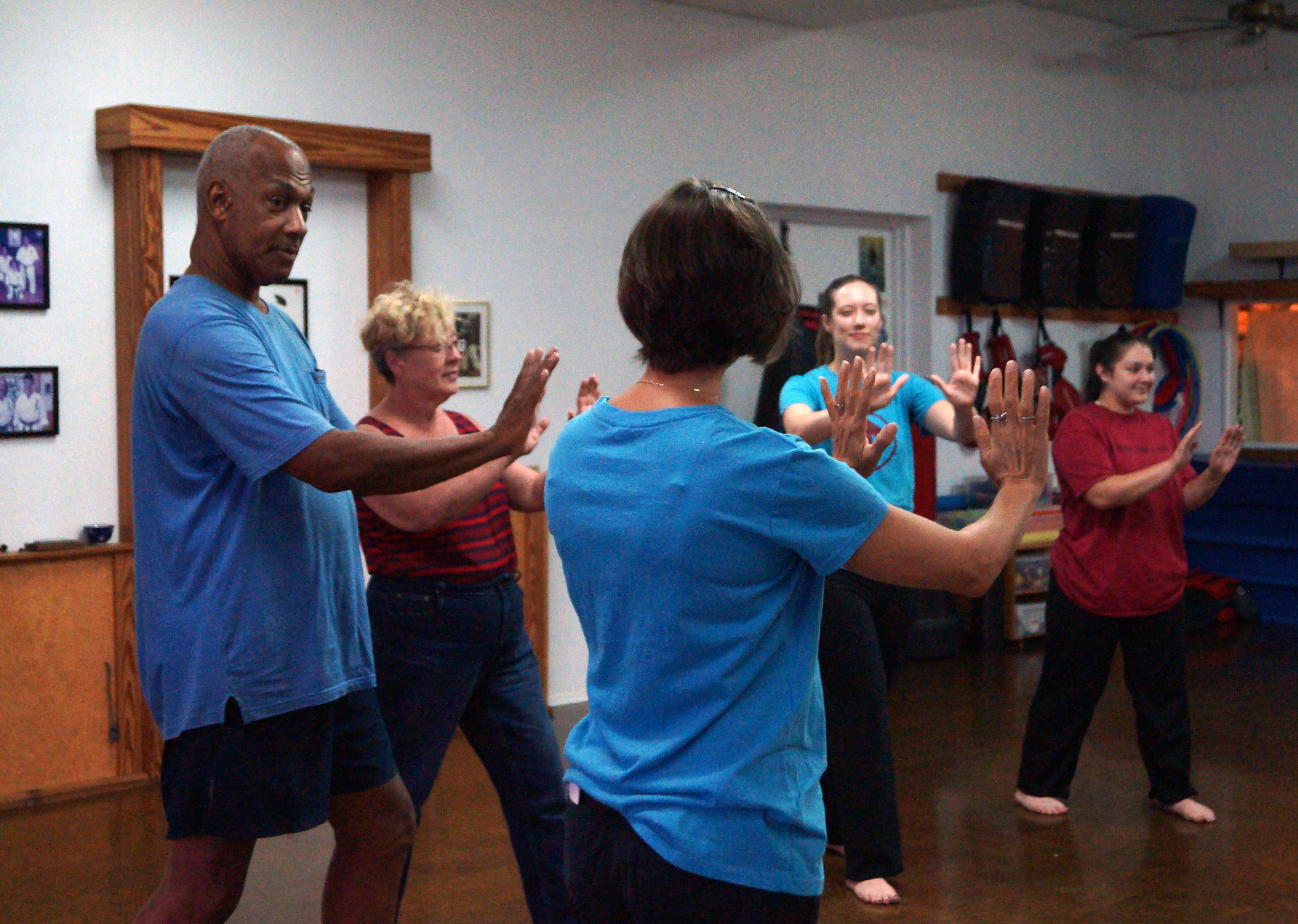 Self defense: GROUP