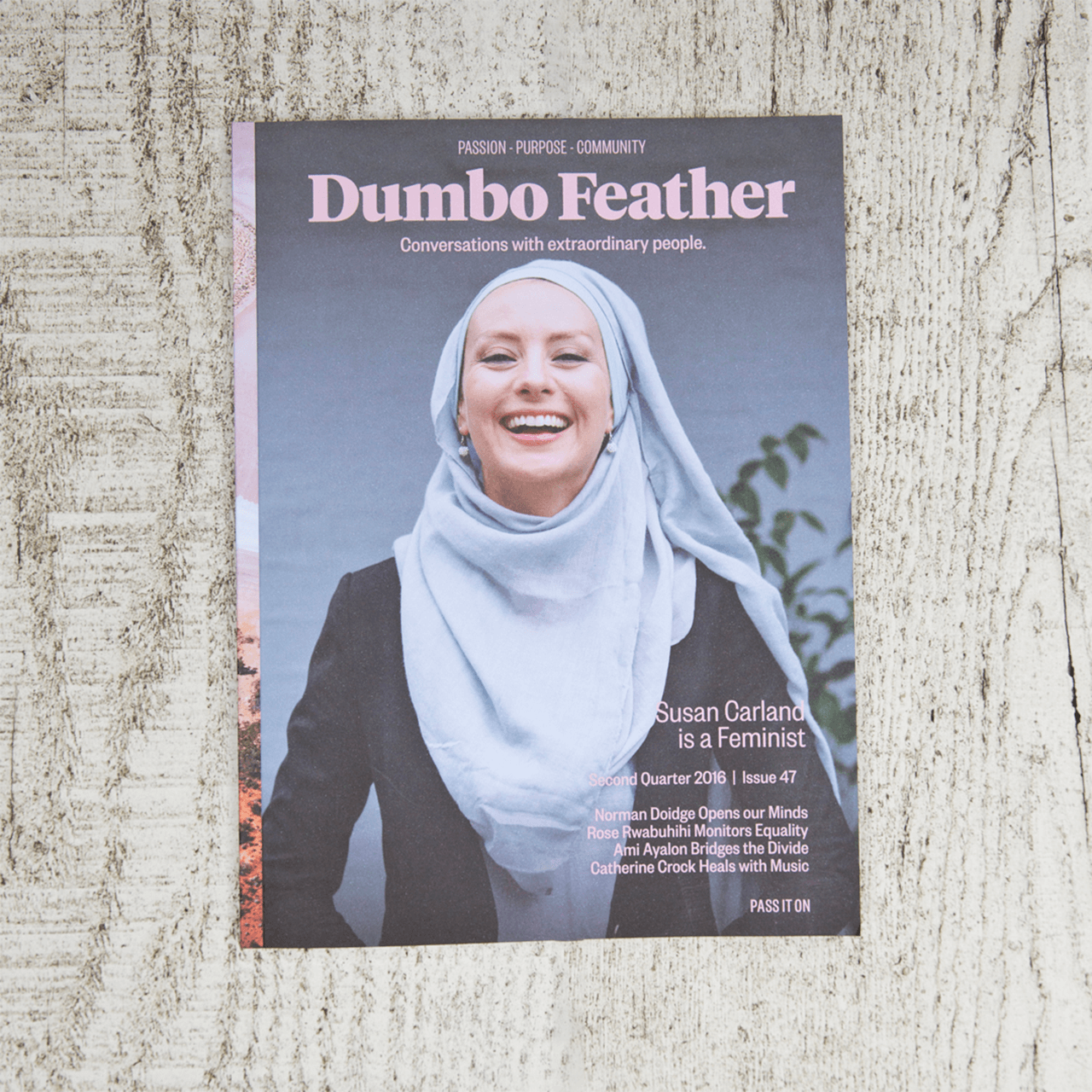 Cover of Dumbo Feather magazine issue 47
