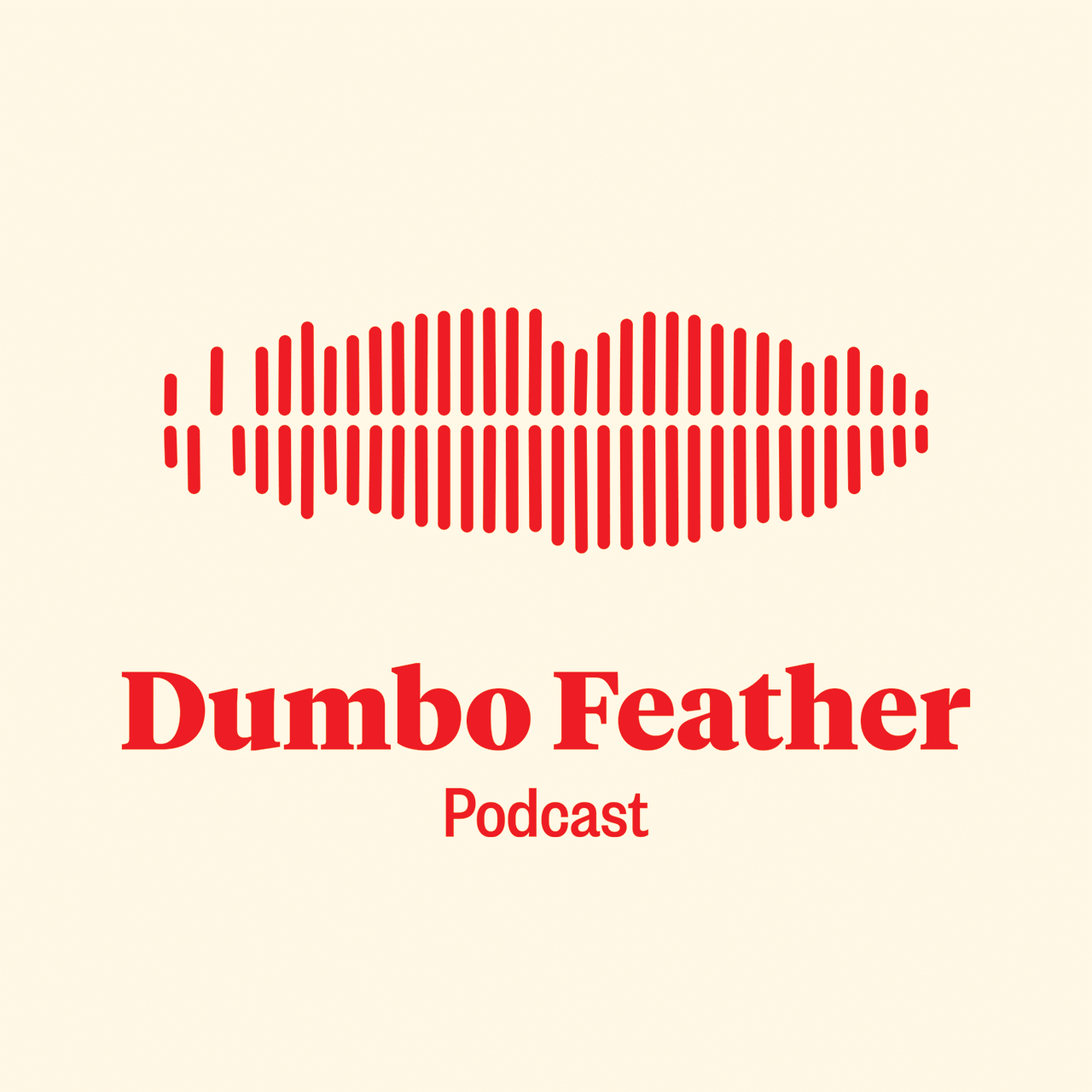 Logo design for Dumbo Feather Podcasts