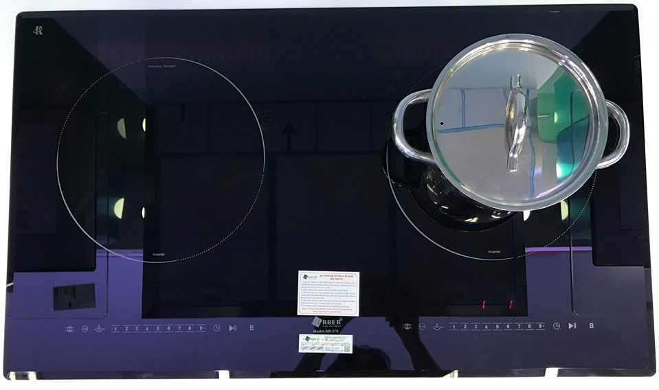 Bếp từ âm đôi giá rẻ Arber AB-279 bán chạy
