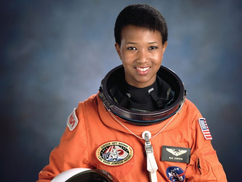 Dr Mae Jemison: the first black woman, and the first woman of colour, to travel into space.