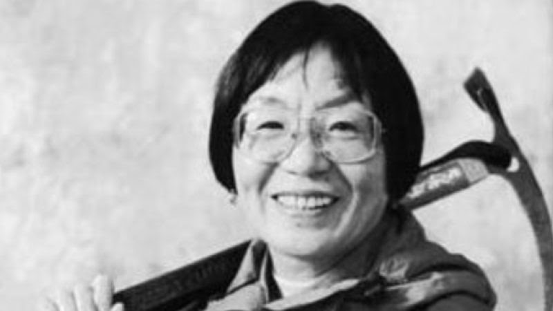 Junko Tabei as the first woman to reach the summit of Mount Everest
