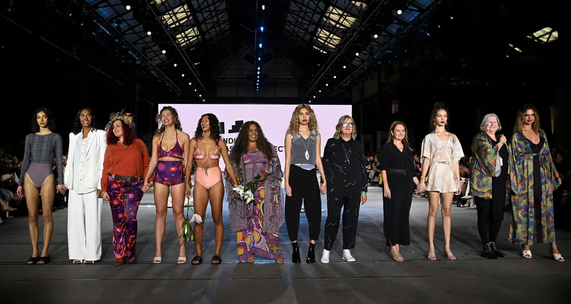 Australian Fashion Week Held Its First Ever Runway Shows Featuring Only Indigenous Talent