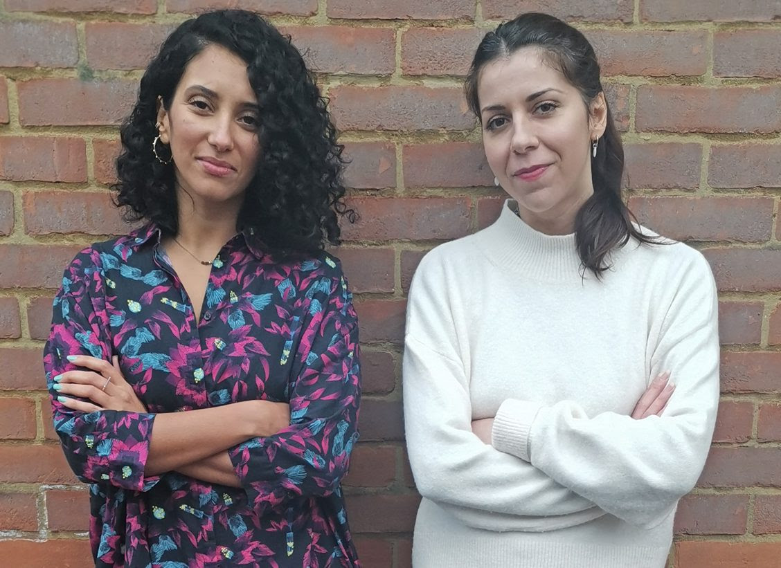 Meet Chourouk Gorrab (pictured on the left) and Jennifer Hakim (pictured on the right), co-founders of The Spill