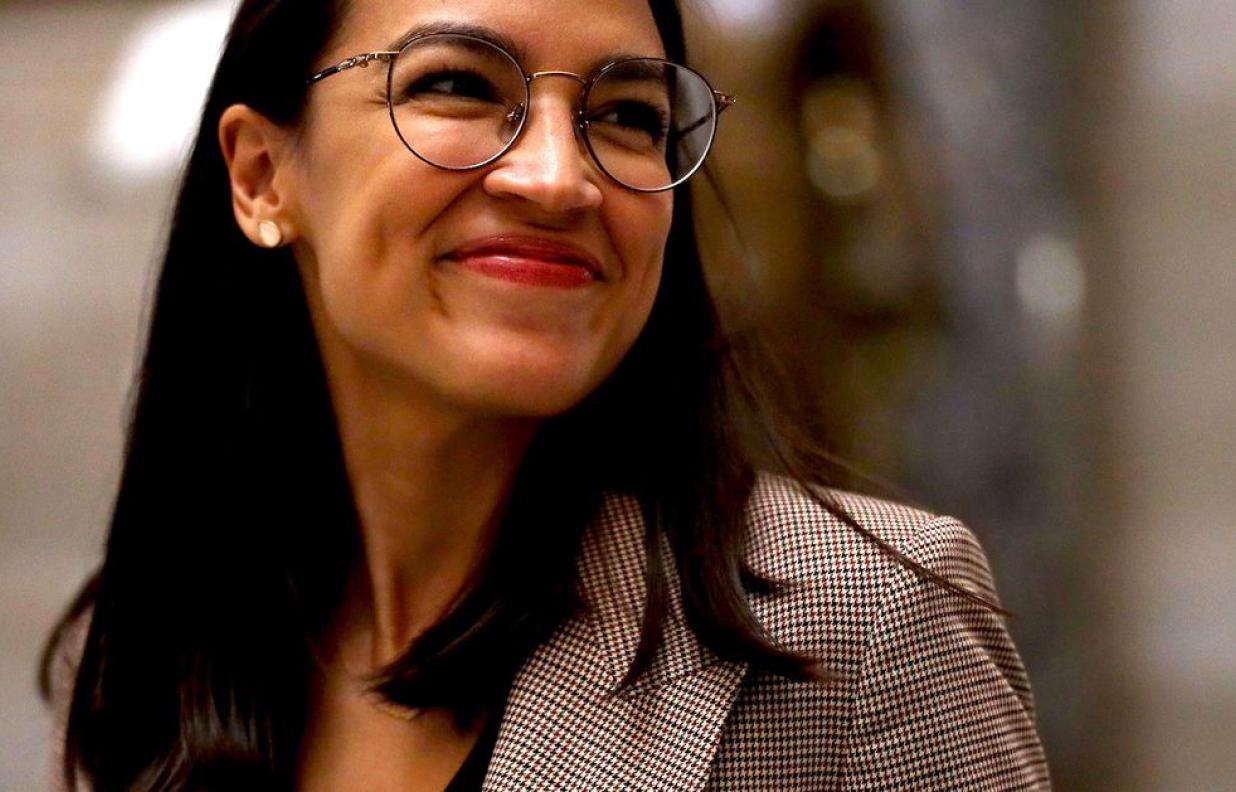 Alexandria Ocasio-Cortez BIPOC Leader and Congresswoman AOC