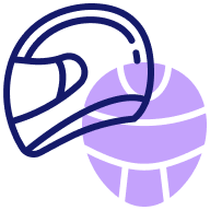 Branded Helmets Icon