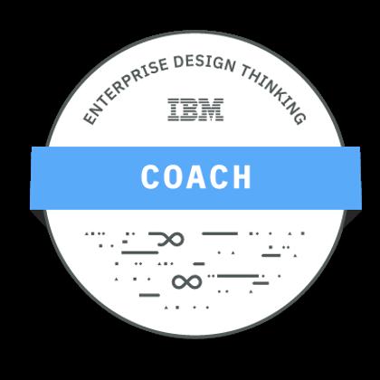 IBM Design Thinking Coach Badge