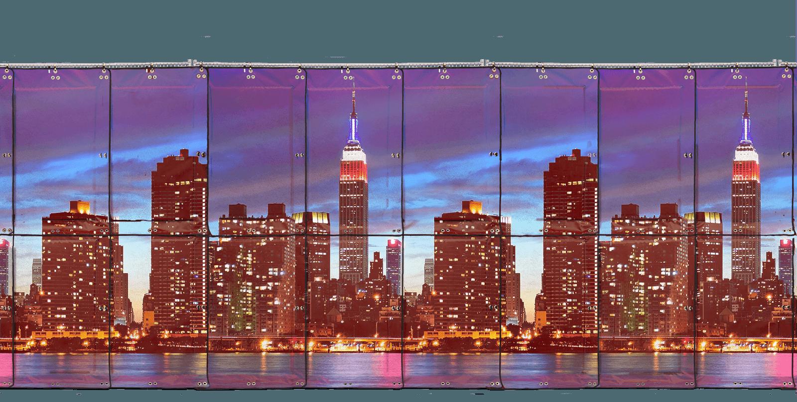 beskpoke city scape background