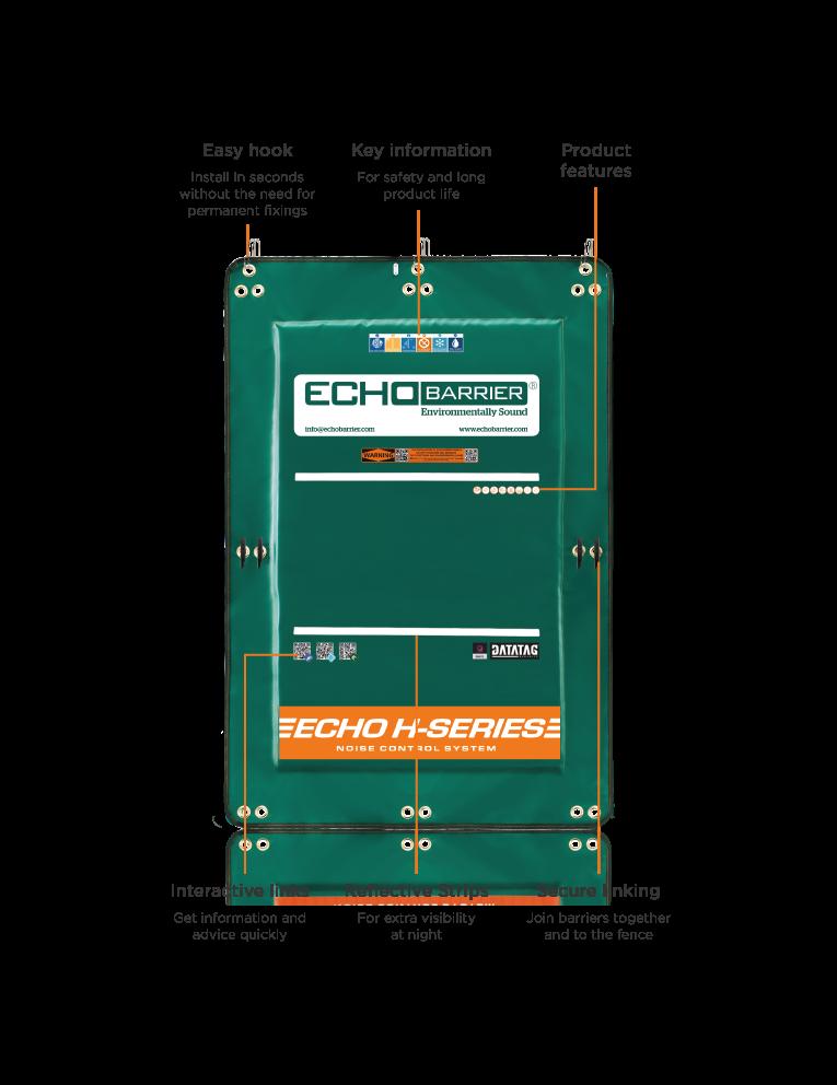 H5 Portable Acoustic Barrier