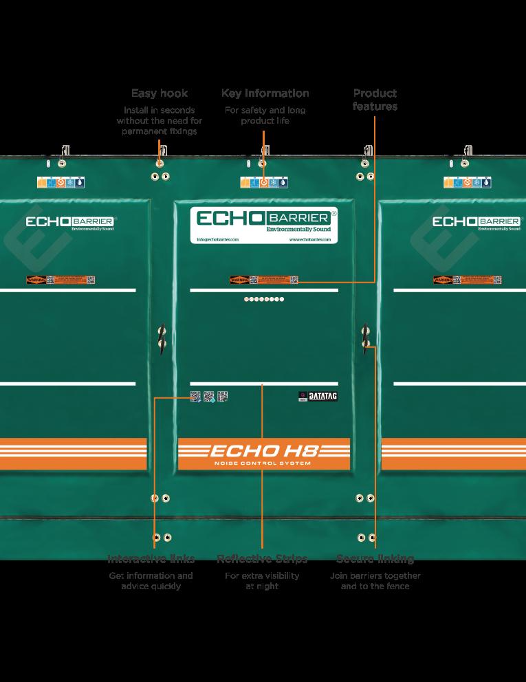 H8 Acoustic Barrier