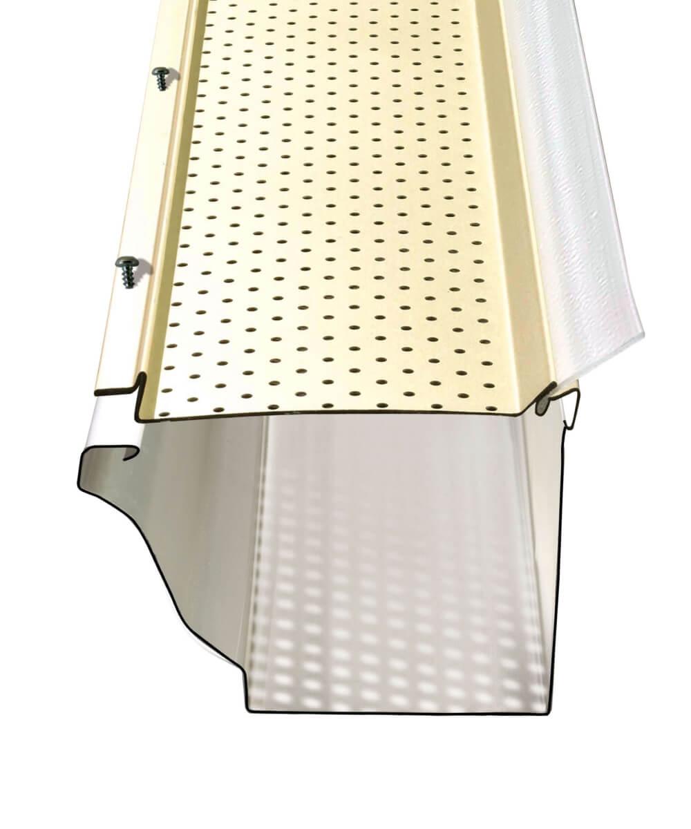 Illustration du protège-gouttière Alurex Gutter Clean M5300