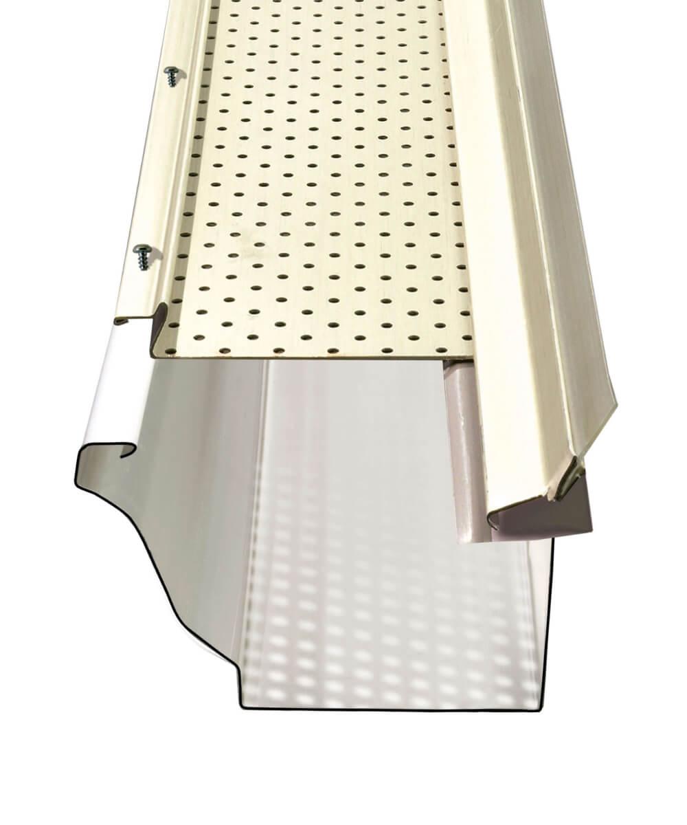 Illustration du protège-gouttière Alurex Gutter Clean M5100