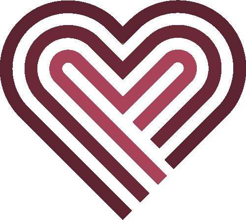 Icons nordseerosen Herz