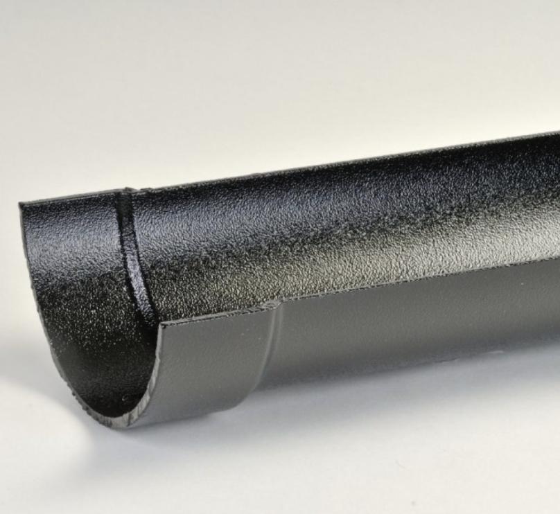 Cast Aluminium Half Round Standard Gutter
