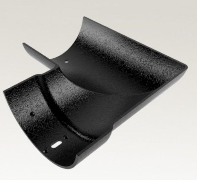 Cast Aluminium Half Round 90° External Angle Gutter