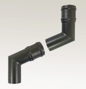 Heritage Range Cast Collar Circular Rainwater Pipes Projection Offset