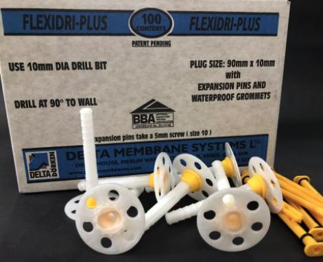Delta Flexidri Plus Plugs With Grommets