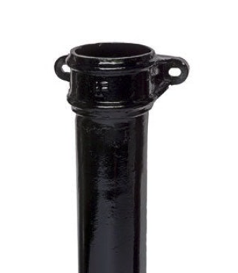 Hargreaves Cast Iron Round Eared Downpipe