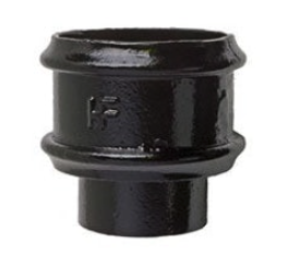 Hargreaves Cast Iron Round Downpipe Loose Socket