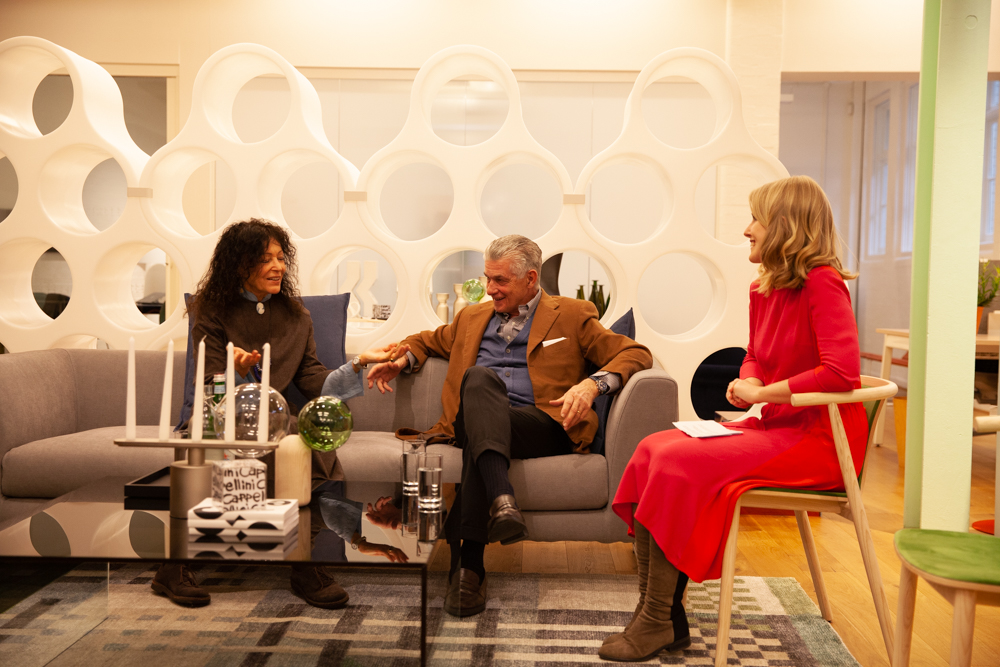 Breakfast Insights at Cappellini with Tricia Guild