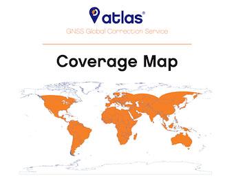 Atlas coverage map