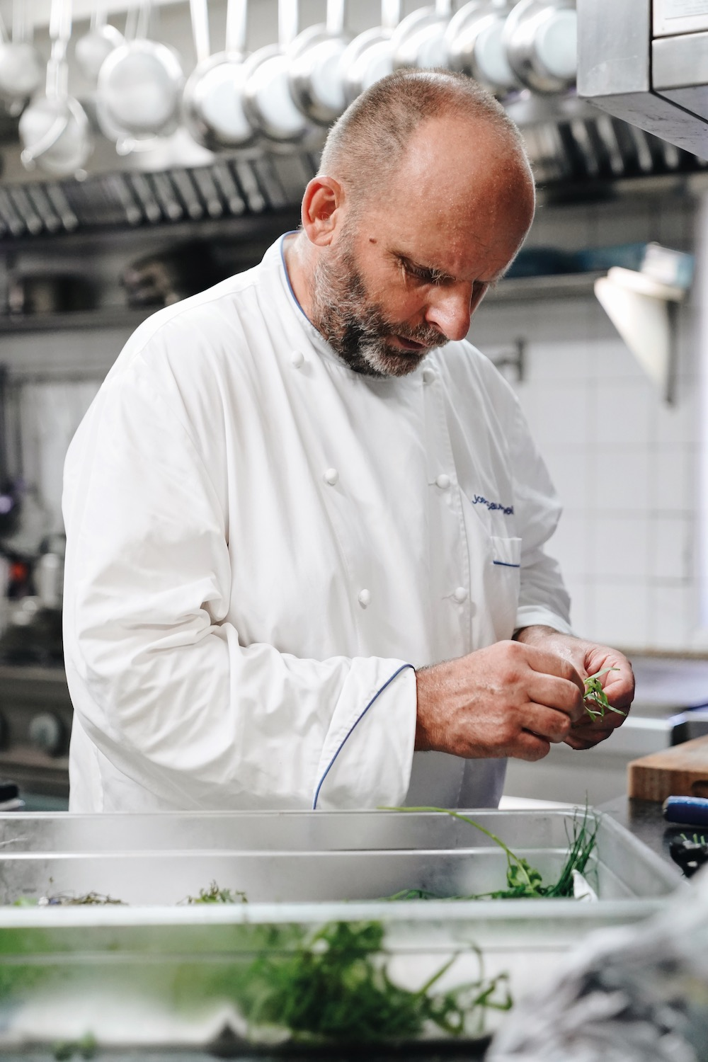 Josef Sauerschell cooking