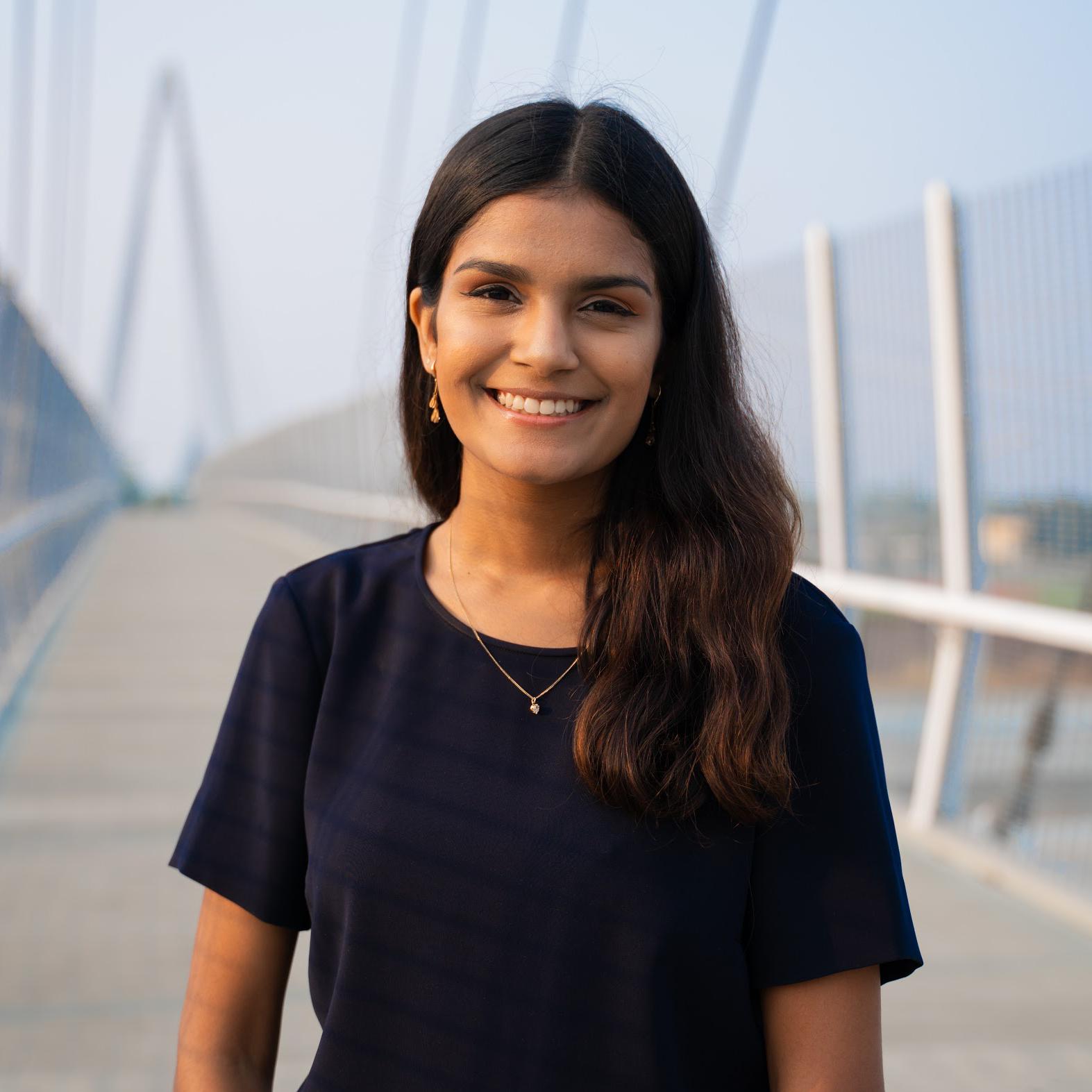 Headshot of Saasha Mane.