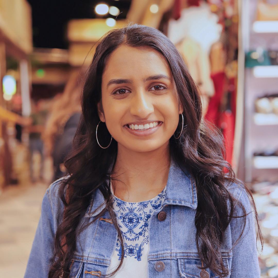 Headshot of Meera Patel.