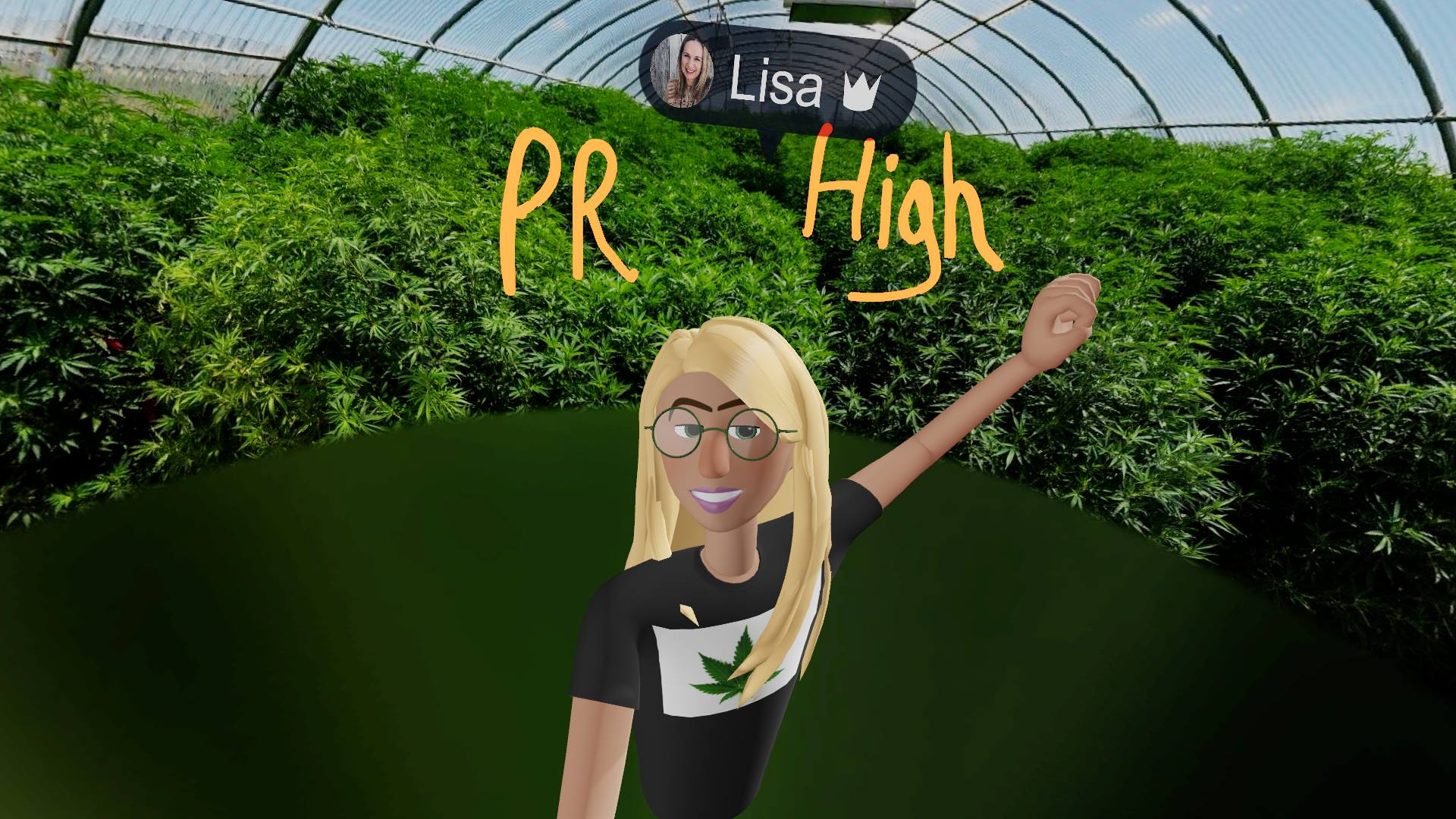 PR High Fives for Cannabis Business