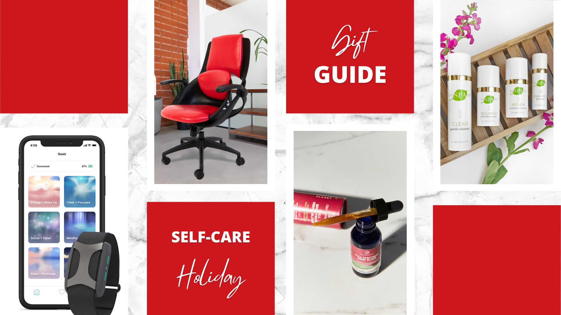 Work From Home Holiday Gift Guide for Less Stress, More Sleep and Better Mindset