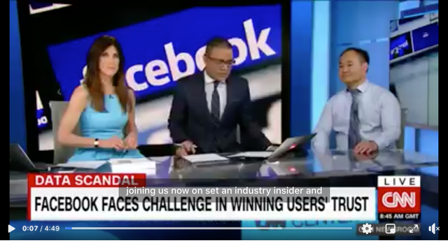Public relations musts - facebook faces challenge in winning users' trust